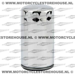 Spin-On Oil Filter 91-98 Dyna (Chrome)