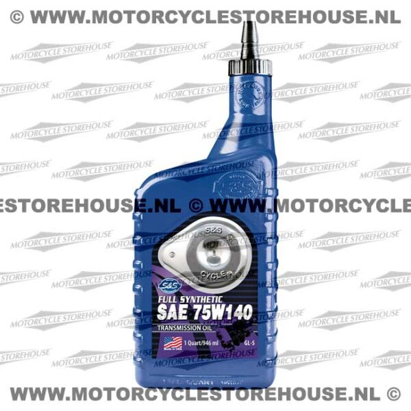 S&S Transmission Oil 75W140 Full Synthetic 1L