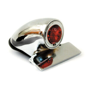 SPARTO Chrome Taillight 12V bulb