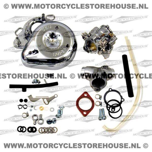 S&S Super E Carburetor Kit (Full) 55-65 Panhead with O-Rings Heads