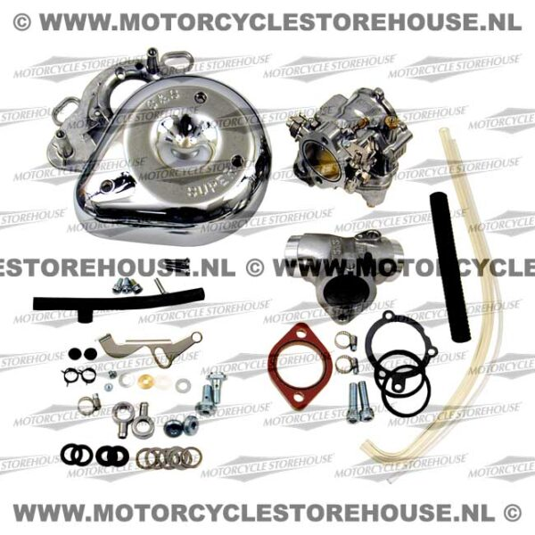 S&S Super E Carburetor Kit (Full) 86-90 Evo XL