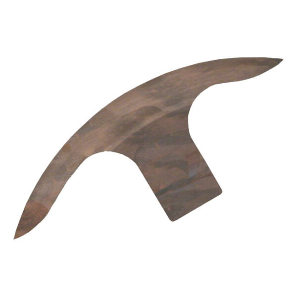 BK Tribal Front Fender 190mm Wide 16-21 Inch (heat treated)