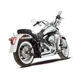 "Paughco 2 1/4"" 9Twentyfives pipes (black) (short) 86-11 Softail"