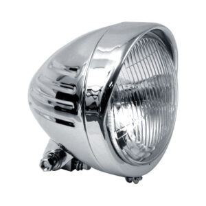Custom Bullet Headlamp chrome plated 5 3/4 inch