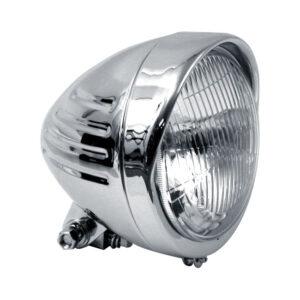 Custom Bullet Headlamp chrome plated 5 3/4 inch