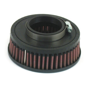 "K&N Air Filter Element 36-38mm Mikuni Carburetors with 6"" Round Air Cleaners (6.2cm deep)"