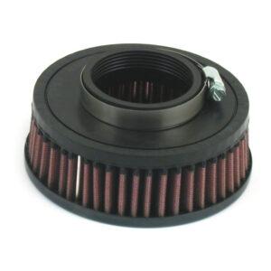 "K&N Air Filter Element 36-38mm Mikuni Carburetors with 6"" Round Air Cleaners (6.2cm deep)"
