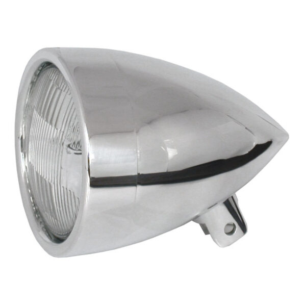 CPV Billet Headlamp Polished 4 1/2 Inch made in Europe