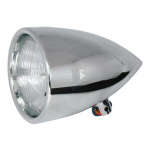 CPV Billet Headlamp Polished 5 3/4 Inch made in Europe